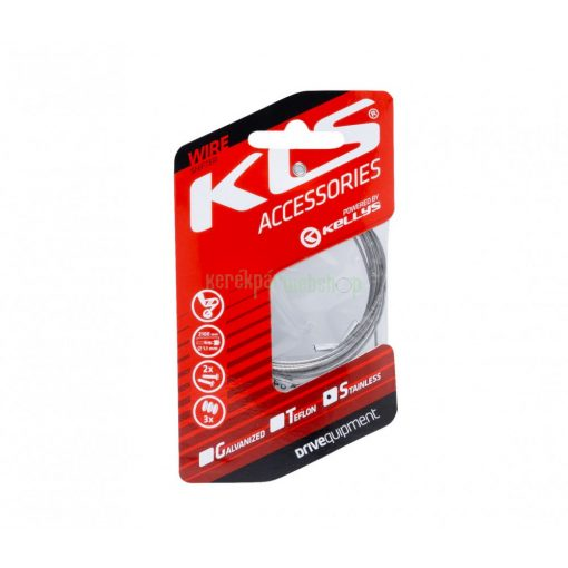 Inner cable for derailleurs KLS 210 cm stainless 1pc