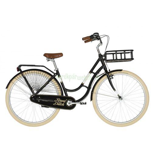 KELLYS Royal Dutch Black 460 2021 Kellys Kerékpár