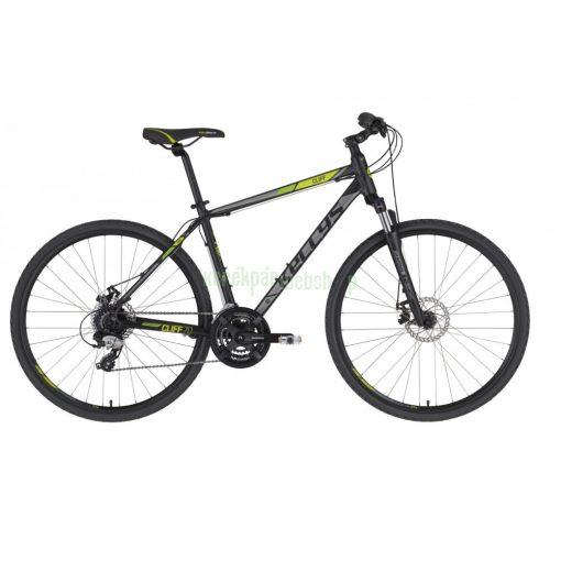 KELLYS Cliff 70 Black Green S 2021 Kellys Kerékpár