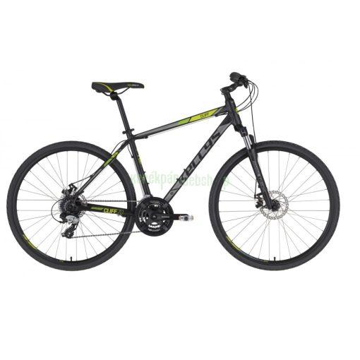 KELLYS Cliff 70 Black Green XL 2021 Kellys Kerékpár