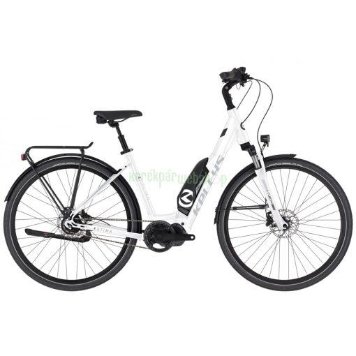 KELLYS Estima 50 White S 28 504Wh 2021 Kellys Kerékpár