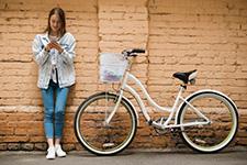 Női city kerékpárok